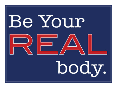 Be Your Real Body Blue