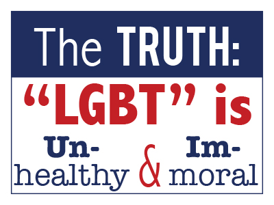 LGBT is Unhealthy & Immoral